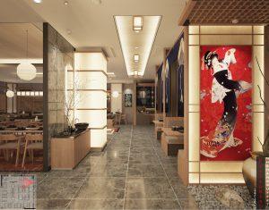 Khu nhà hàng Nhật