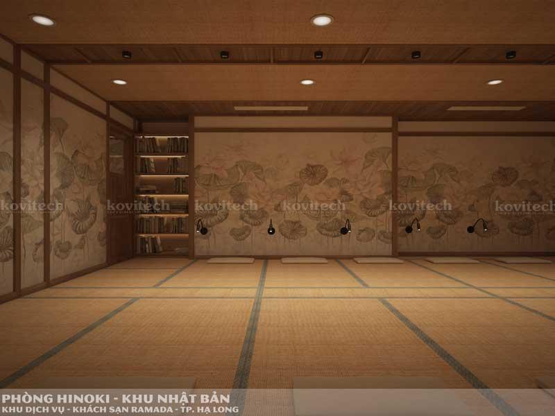 phòng xông Hinoki