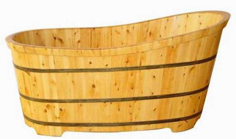 Bồn tắm gỗ xông hơi