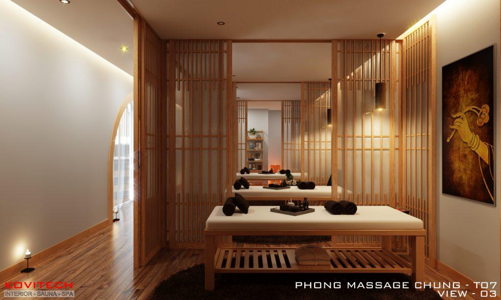 Phòng massage chung