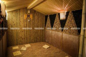 Phòng xông than củi