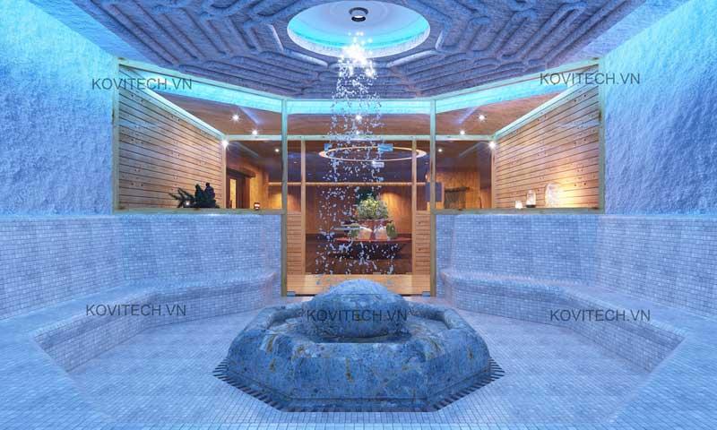 Phòng xông tuyết (ice sauna) và tác dụng của nó